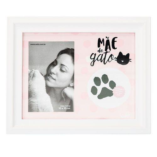Porta Retrato Patinha Mãe De Gato