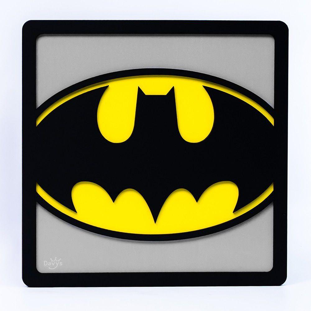 Quadro Herói 3D Batman