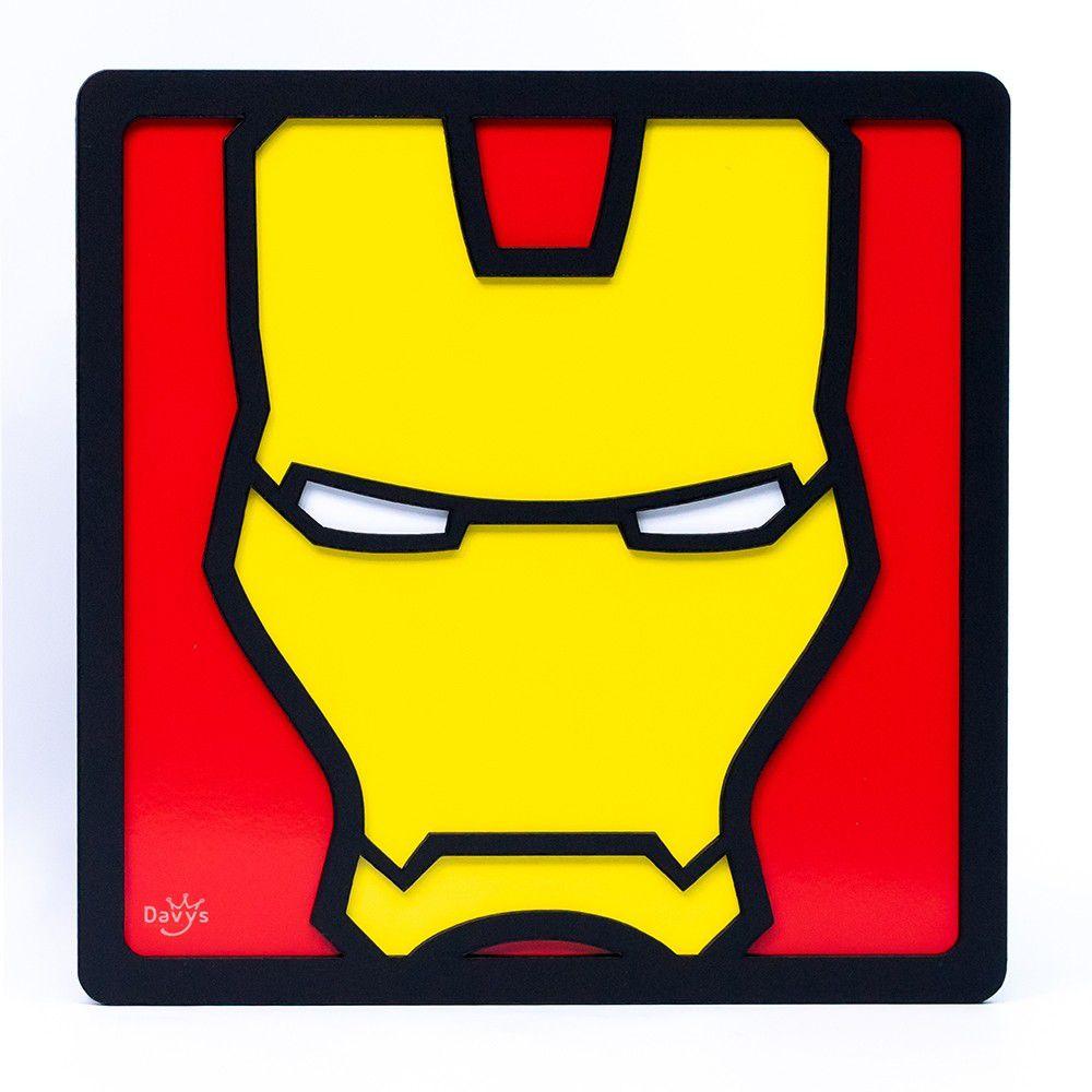 Quadro Herói 3d Homem De Ferro