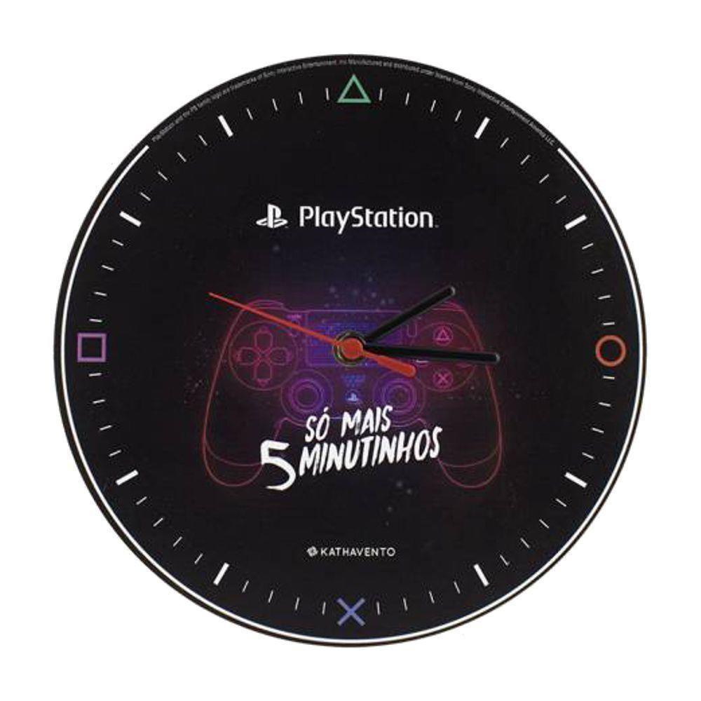 Relógio Playstation