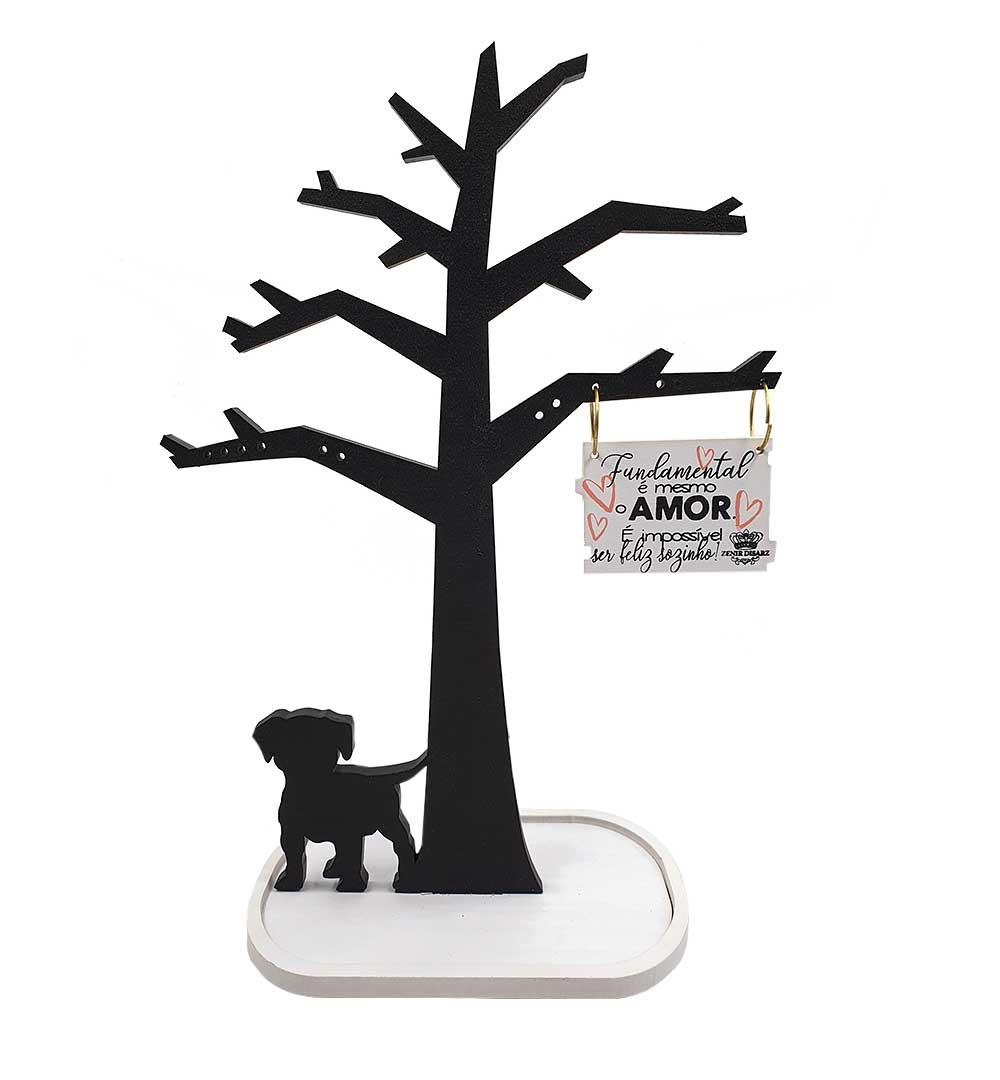 Suporte Para Biju Árvore - Cachorro