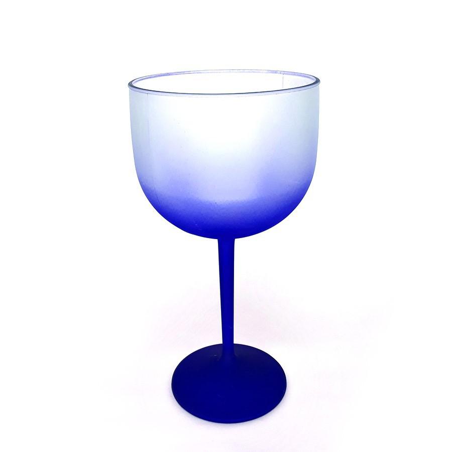 Taça De Gim Jateada Degradê Azul