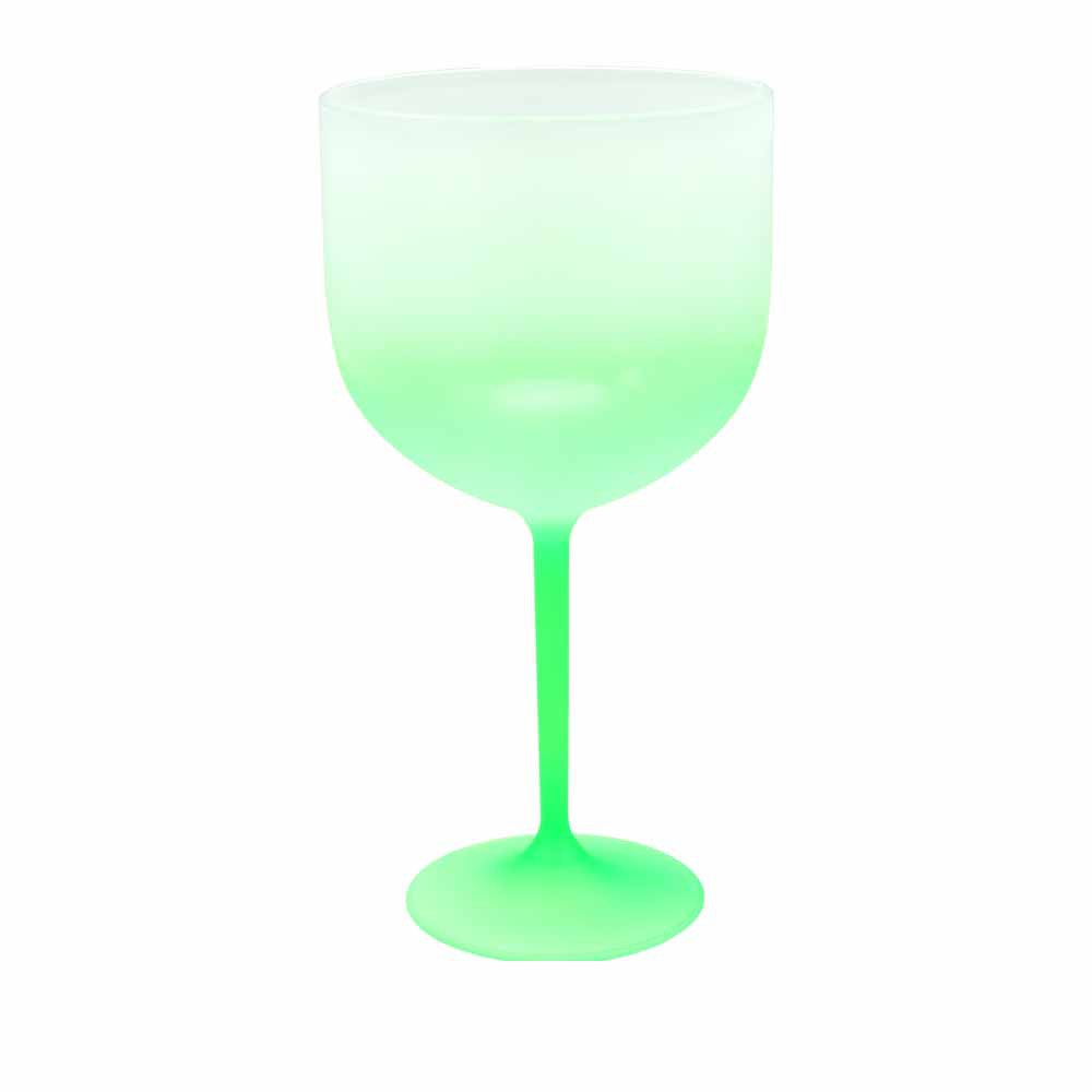 Taça De Gim Jateada Degradê Verde