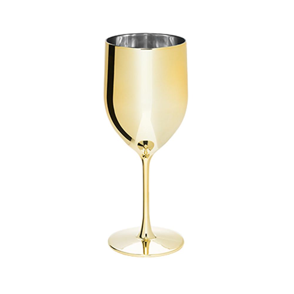 Taça Genova Metalizada Dourada