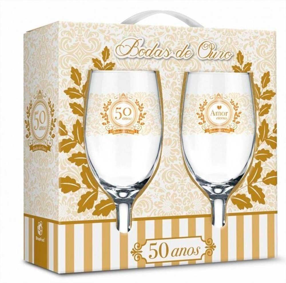 Taças Windsor - Bodas de Ouro