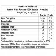 Maca peruana 120 capsulas