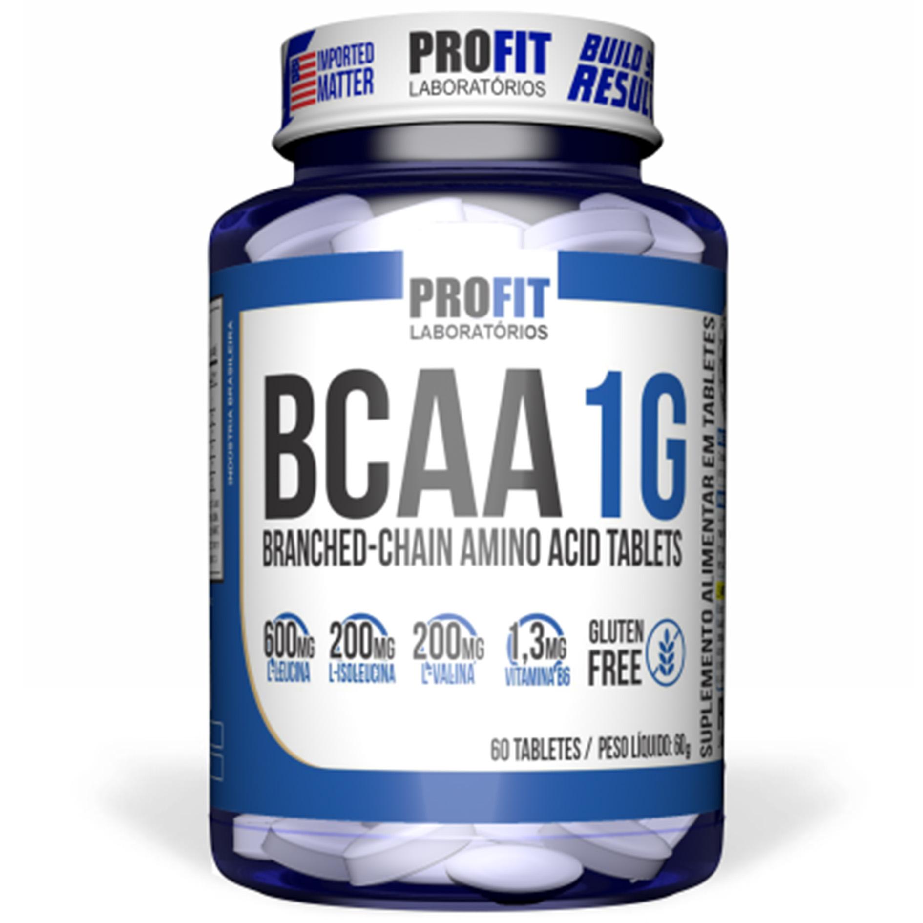 BCAA 1G Profit - 60 Tab