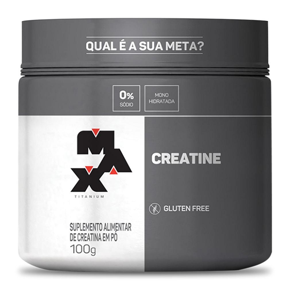 Creatina Titanium Pote 100g - Max Titanium