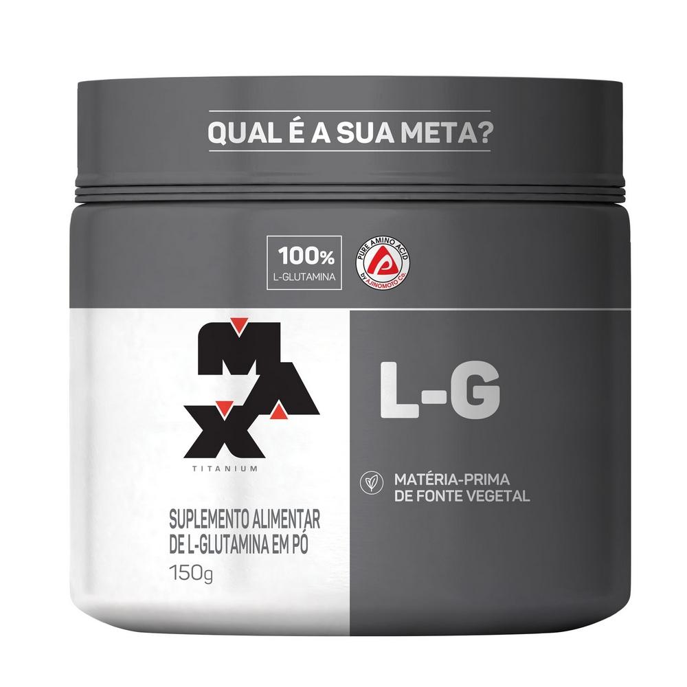 Glutamina L-G Max Titanium 150G