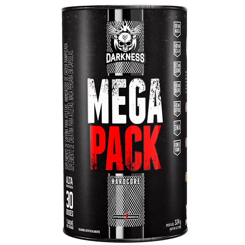 Mega Pack Hardcore 30 doses - Darkness
