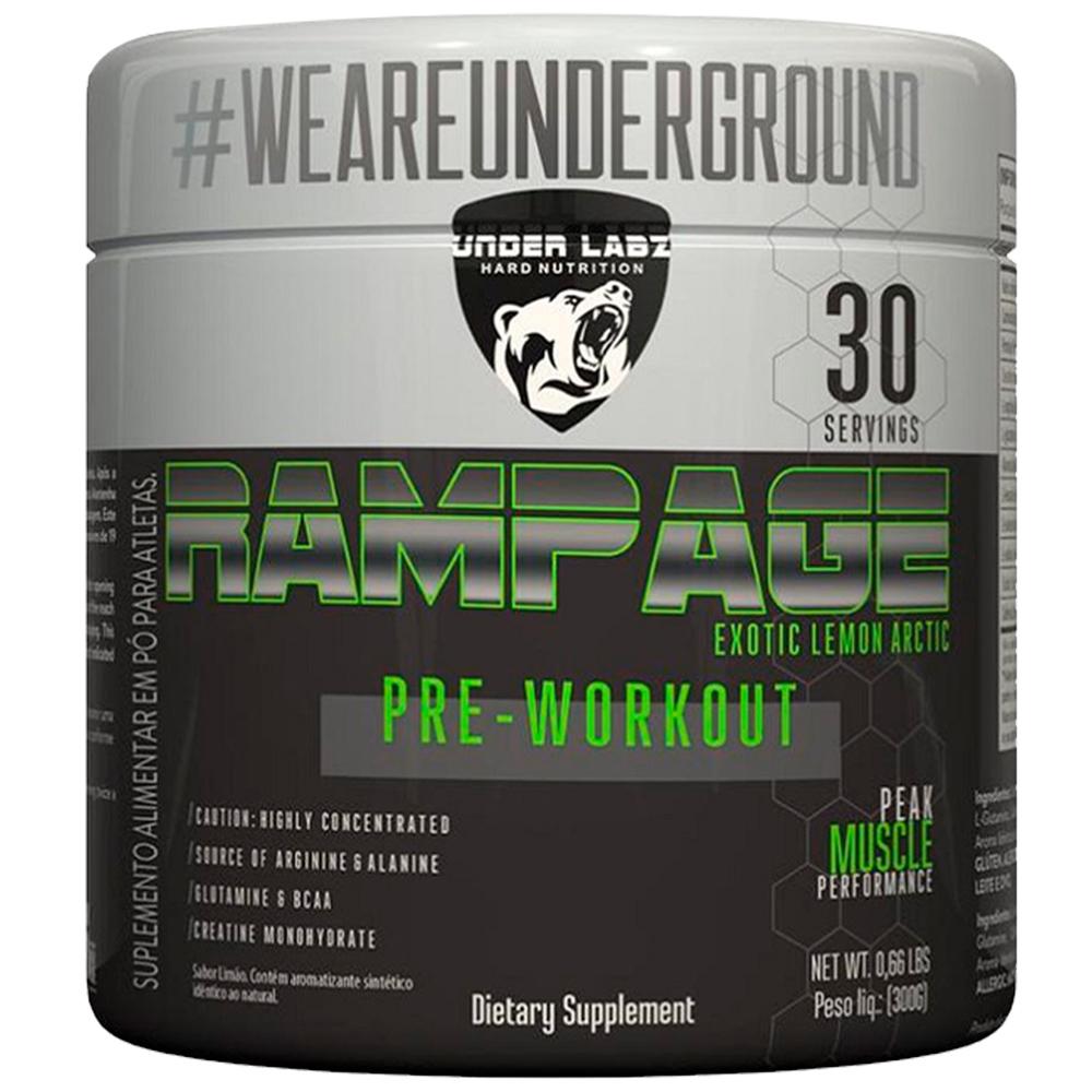 Rampage Pré-treino 300G
