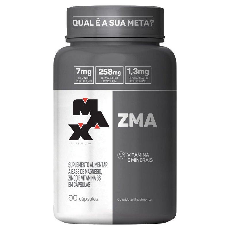 ZMA 90 Capsulas Max Titanium