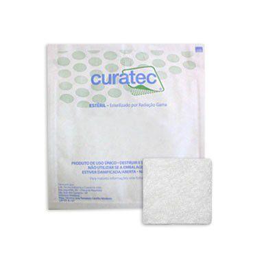 Curatec Alginato de Cálcio e Sódio - 05 cm x 05 cm - 1 unidade