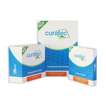 Curatec Alginato de Cálcio e Sódio - 10 cm x 20 cm - 1 unidade