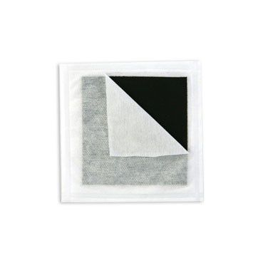 Curatec Curativo de Carvão Ativado com Prata - 10,5 cm x 10,5 cm - 1 unidade