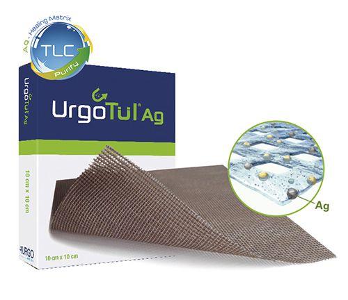 Urgo Tul Ag - Curativo 10cm x 12cm - 01 unidade