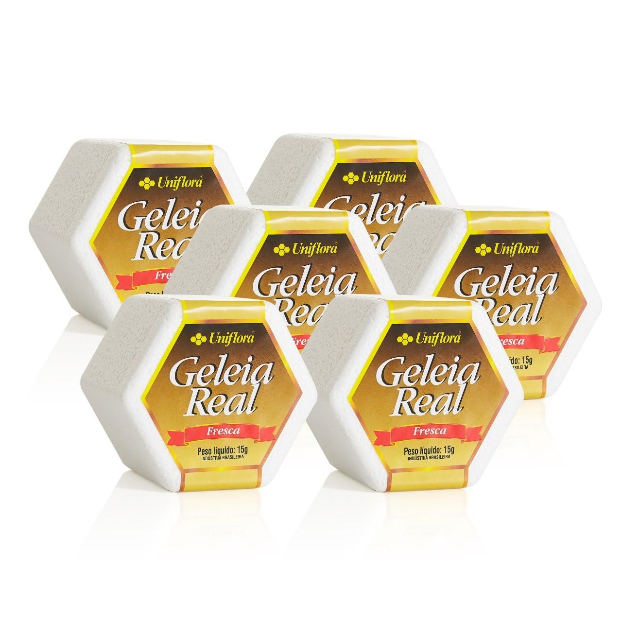 Kit com 6 unidades de Geleia Real in Natura – 15g