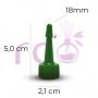 Bico Aplicador 18mm Verde