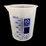 Copo Plástico Medidor Becker 1000ml 1L