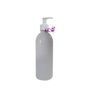 Frasco Pet 500ml Caçula Branco C/ Válvula Pump