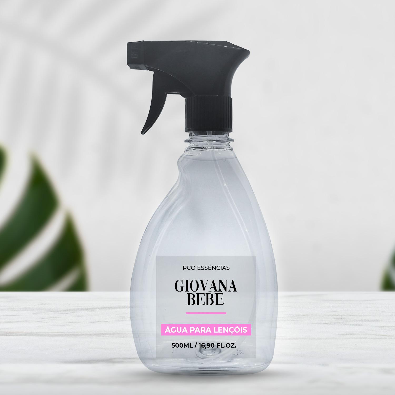 Água Perfumada Para Tecidos 500ml - Giovana Bebê