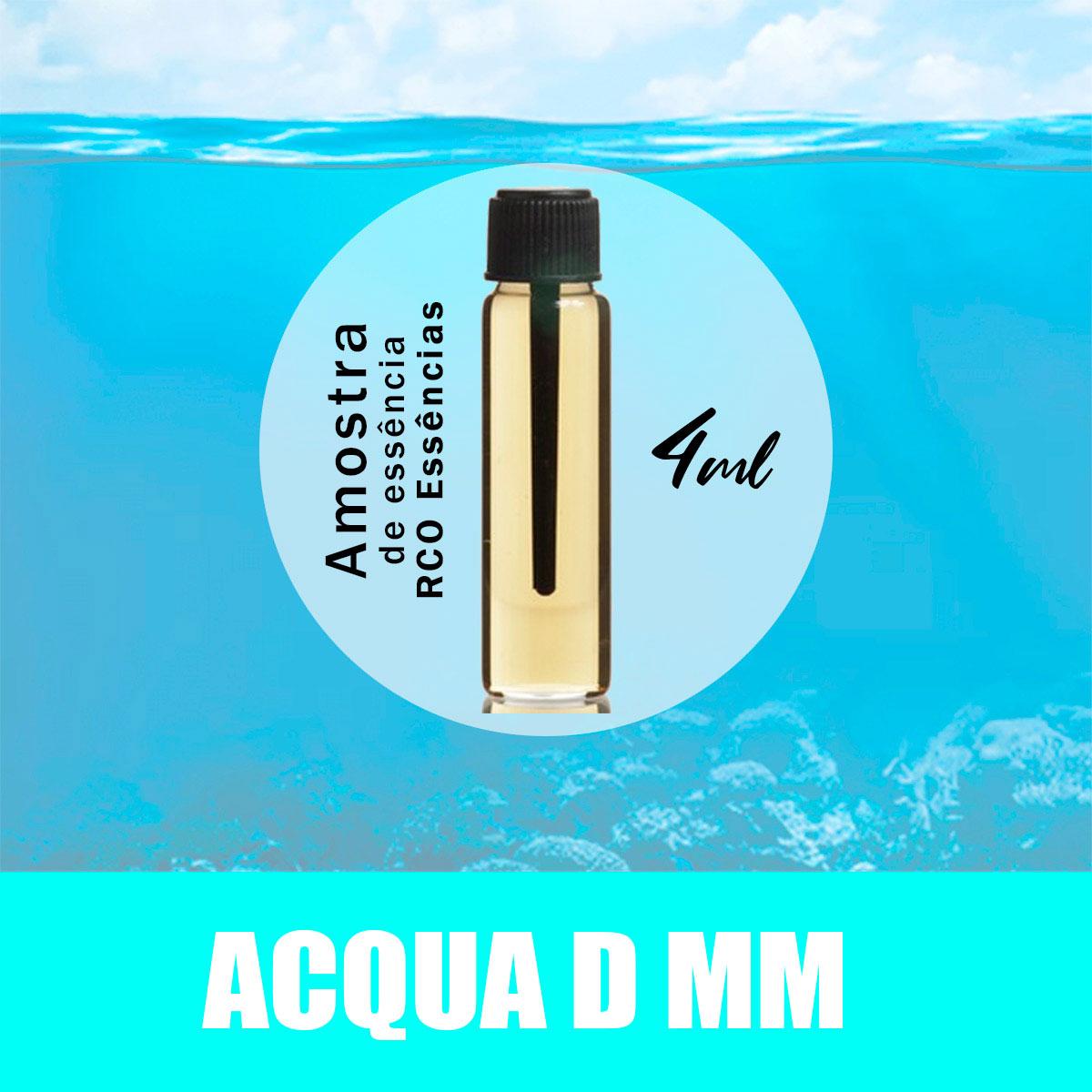 Amostra Essência - Acqua D MM