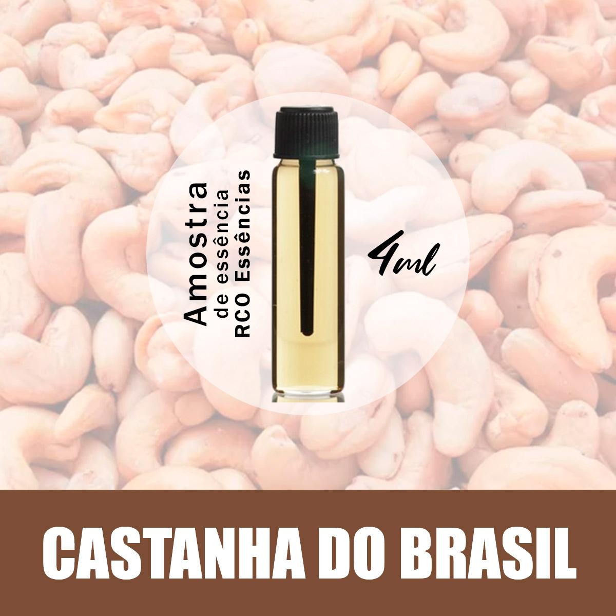 Amostra Essência - Castanha Do Brasil