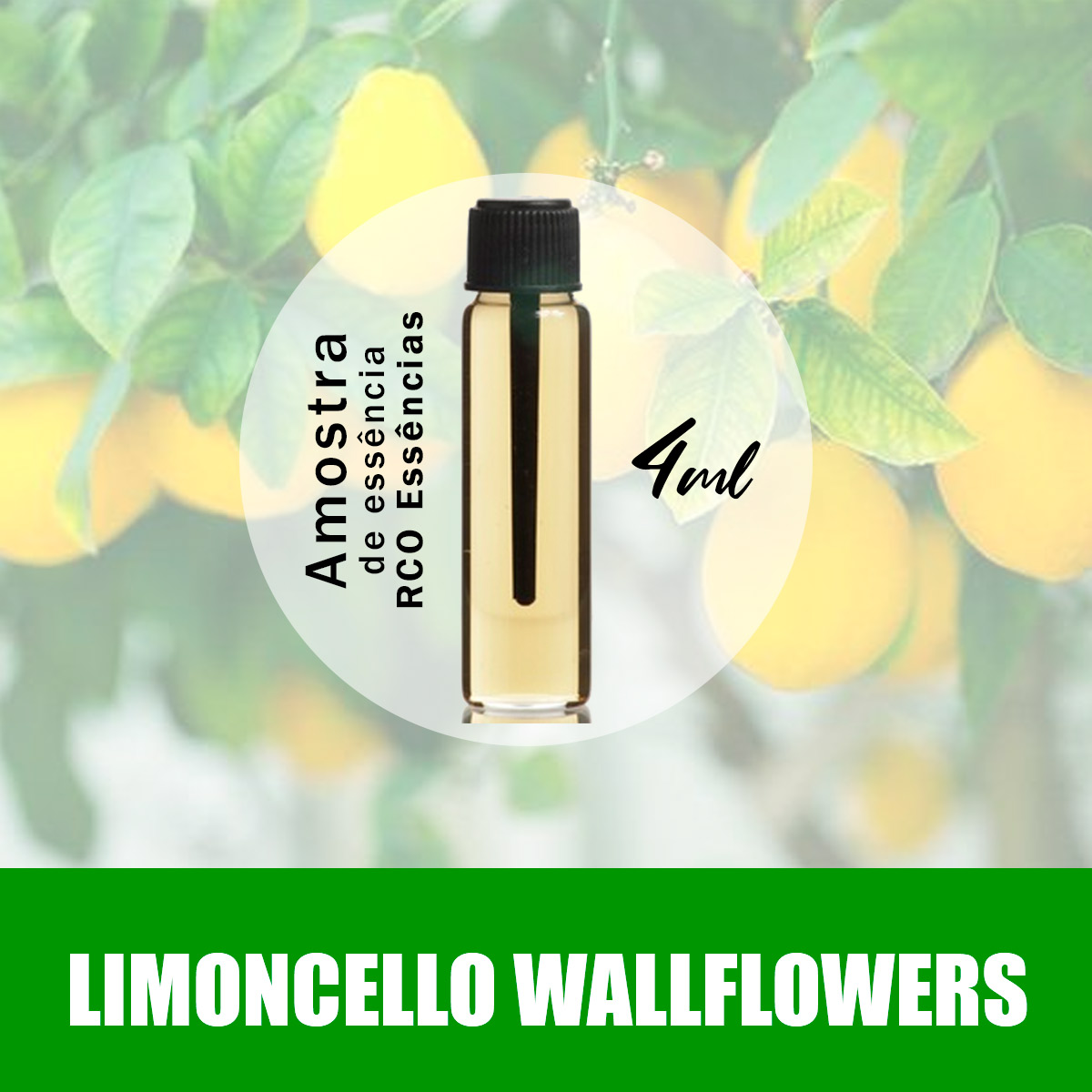 Amostra Essência - Limoncello Wallflowers