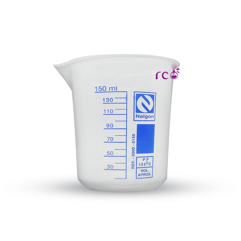 Copo Plástico Medidor Becker 150ml