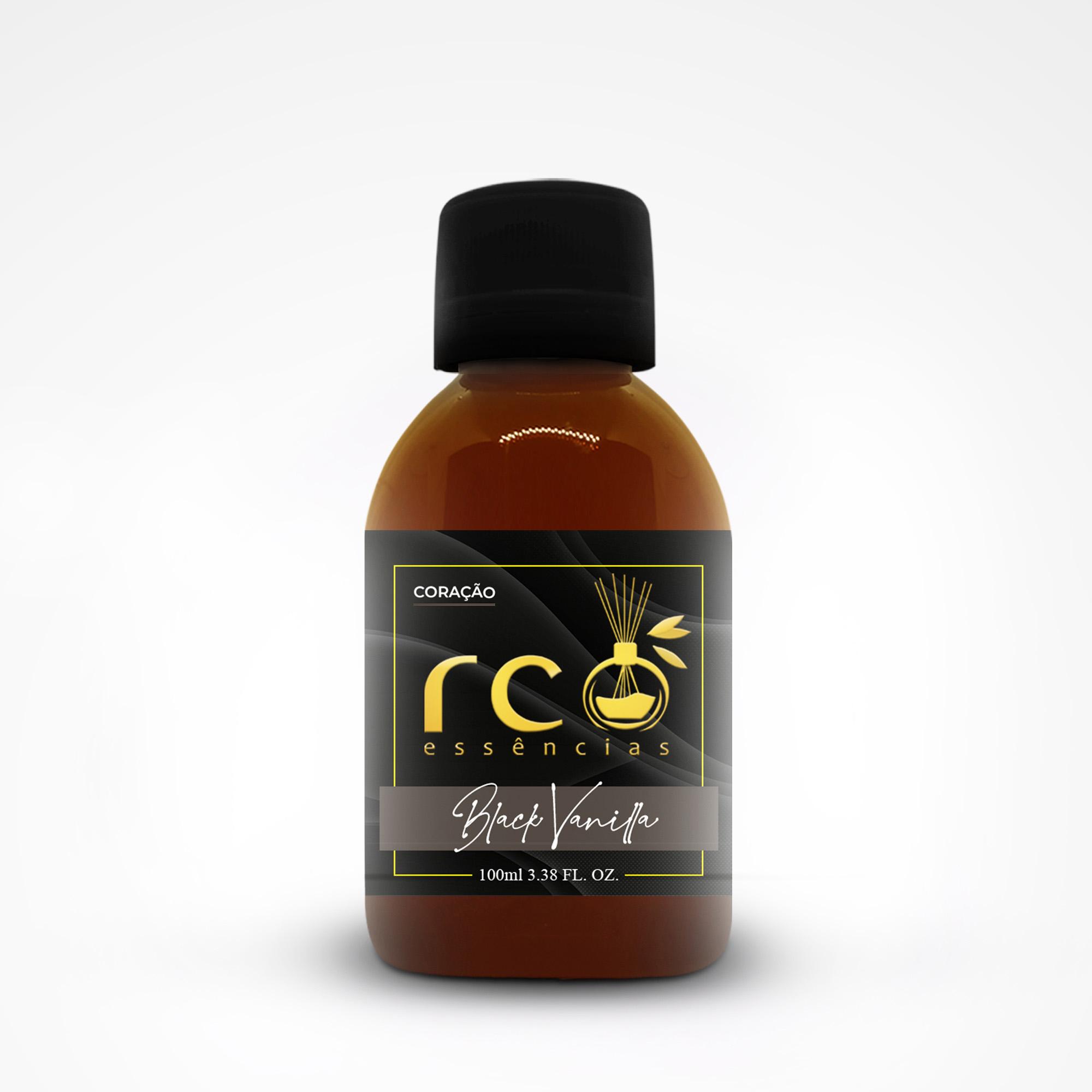 Essência Pura 100ml Black Vanilla