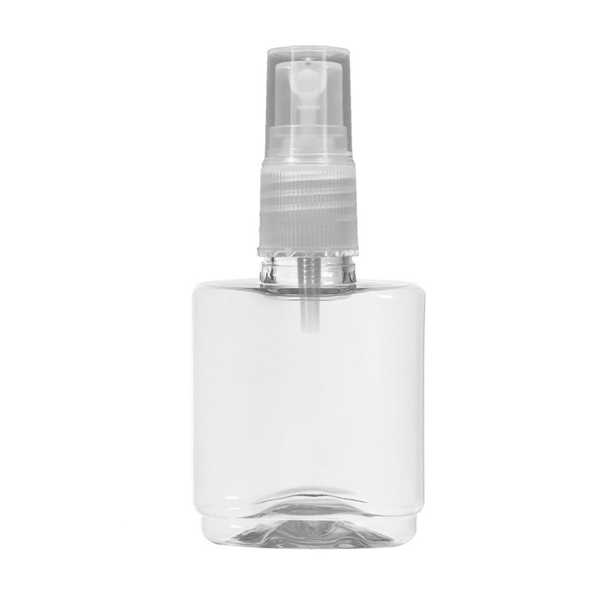 Frasco Pet 35ml Oval Valvula Spray Cor:Transparente