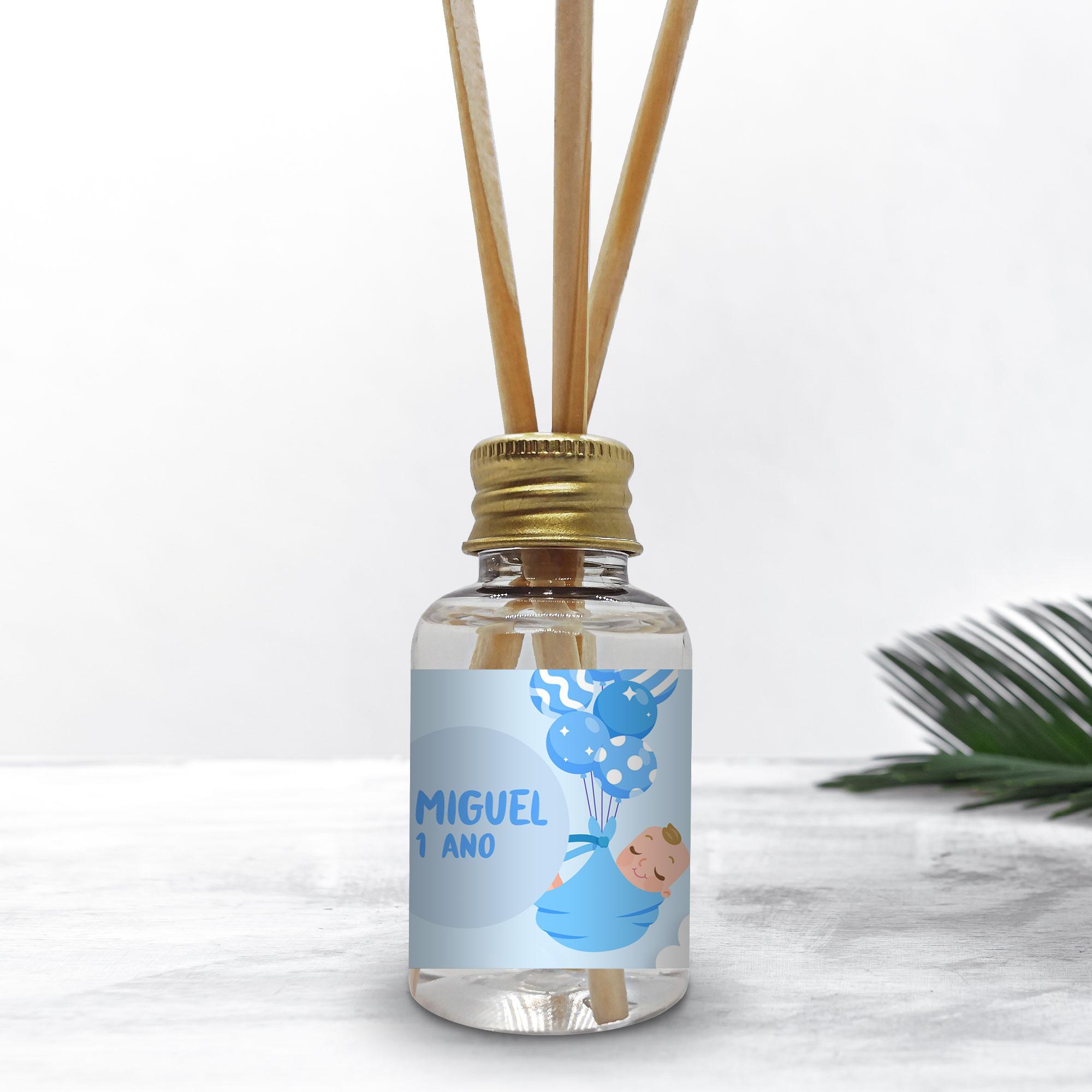 Mini Difusor 30ml Para Lembrancinha Personalizada - Giovana Bebê