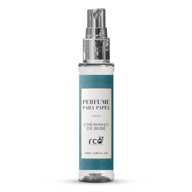 Perfume Para Papel 25ml Rco - Cheirinho de Bebê