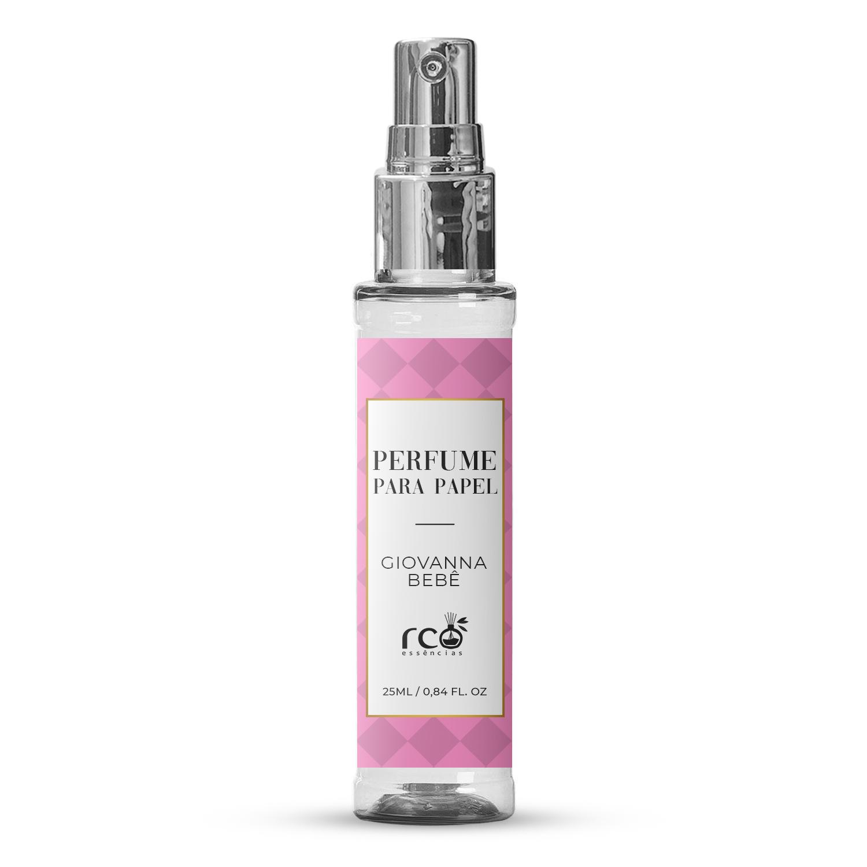 Perfume Para Papel 25ml Rco - Giovanna Bebê