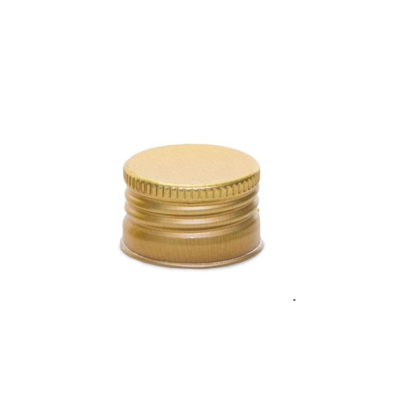 Tampa Alumínio Sem Furo 28/410 Dourado