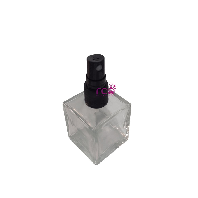 Vidro 50ml Cubo C/ Válvula Spray