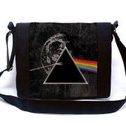 Bolsa Mensageiro Pink Floyd Dark Side