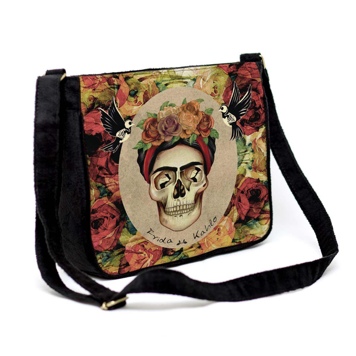 Bolsa Capanga Frida Caveira