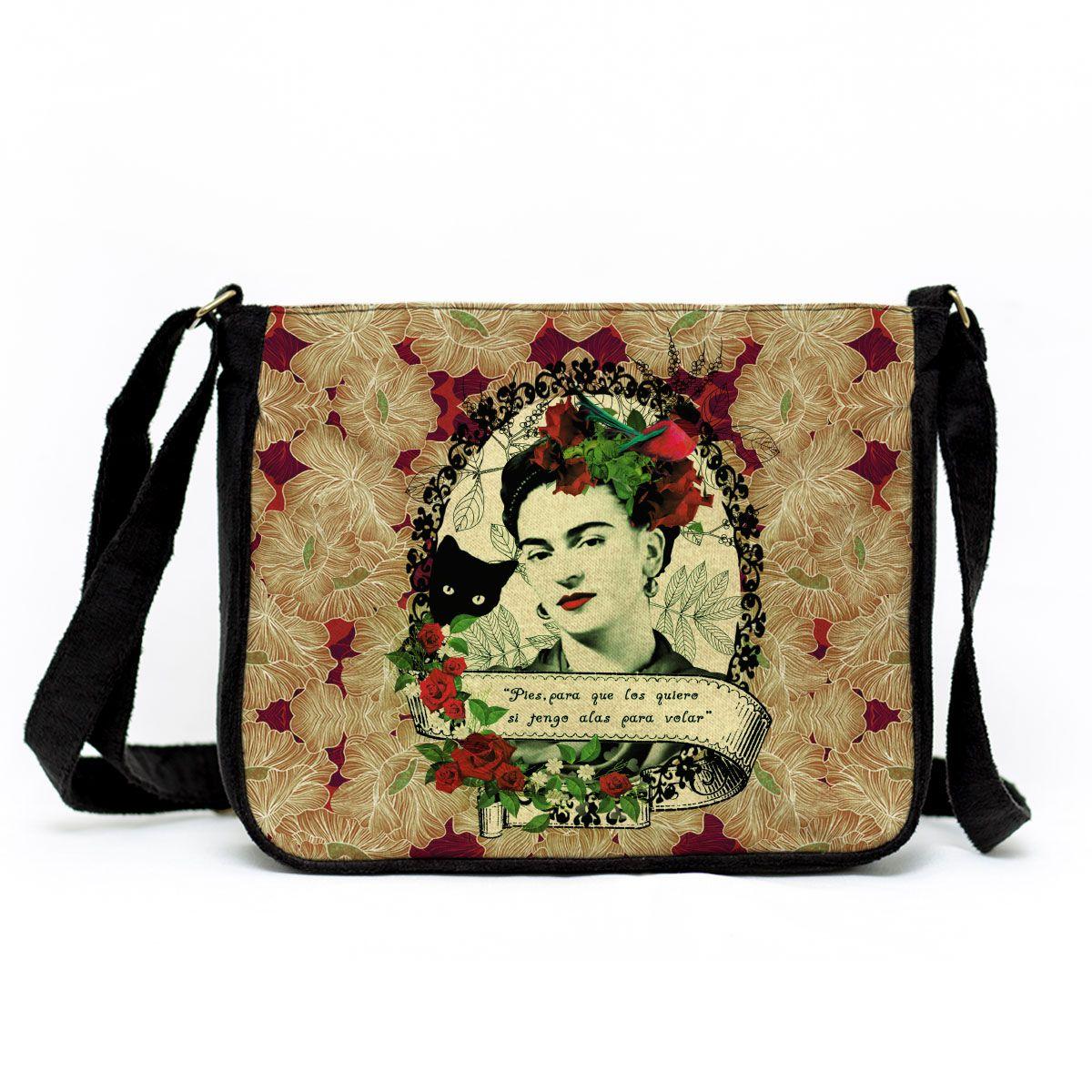 Bolsa Capanga Frida Colagem