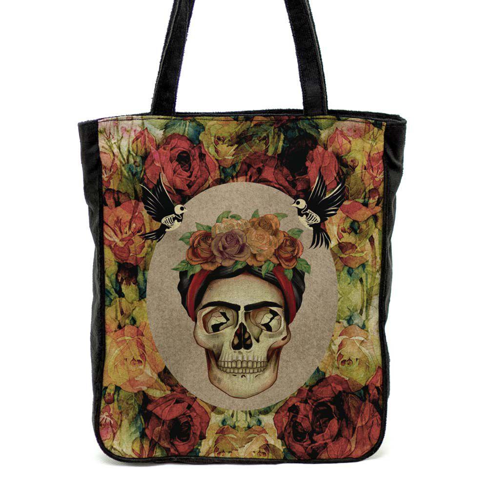Bolsa de ombro Frida Caveira