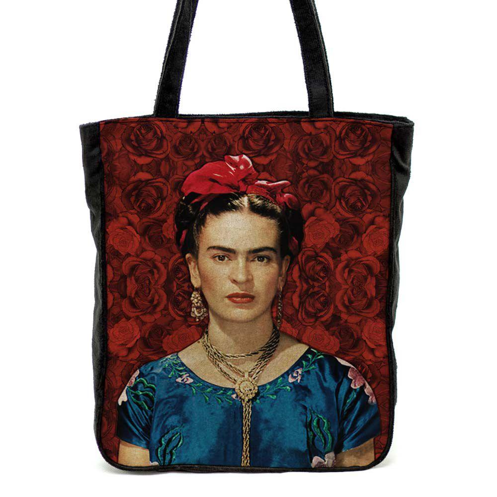 Bolsa de ombro Frida Vermelha