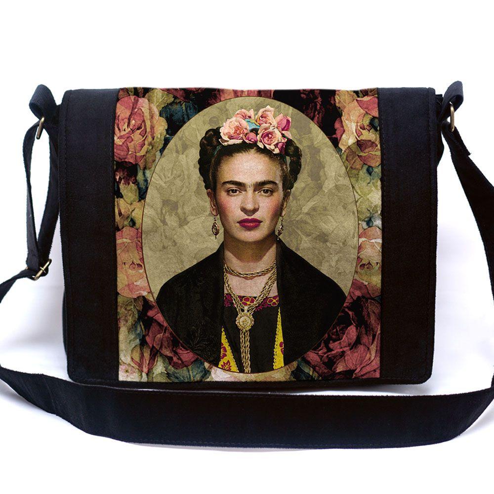 Bolsa Mensageiro Frida Floral
