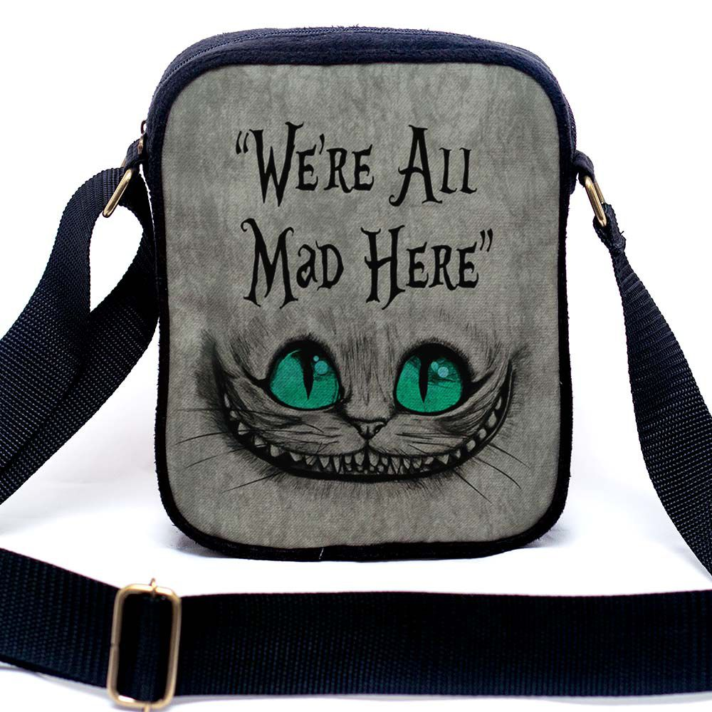 Bolsa Urbana Gato de Cheshire / Gato Alice / Gato Risonho