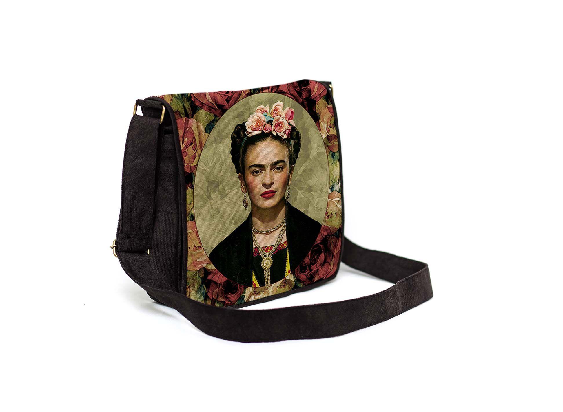 Capanga Com Tampa Frida Floral