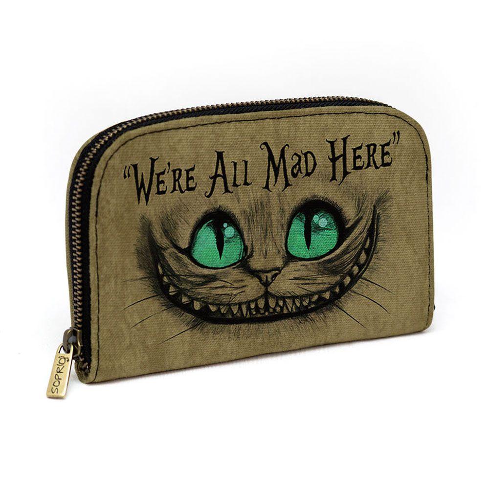 Carteira Gato Alice (Gato de Cheshire)