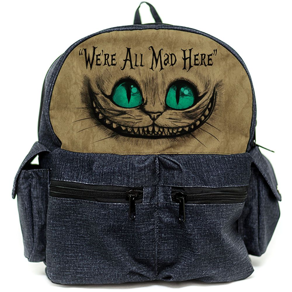 Mochila Gato de Cheshire (Gato Alice)