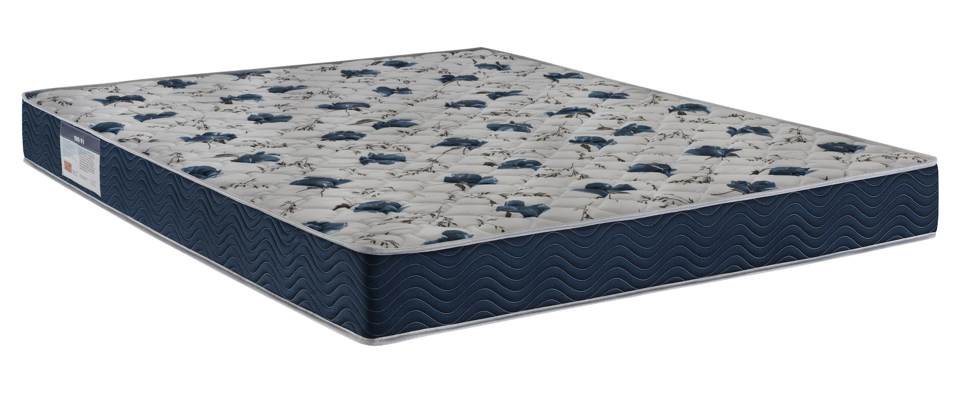 CAMA BOX UNIVERSAL CORINO + COLCHÃO ORTOBOM ISO 6.0 D28 CASAL (138x188x18cm)