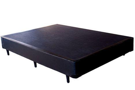 CAMA BOX CORINO PRETO CASAL (138x188x30cm)