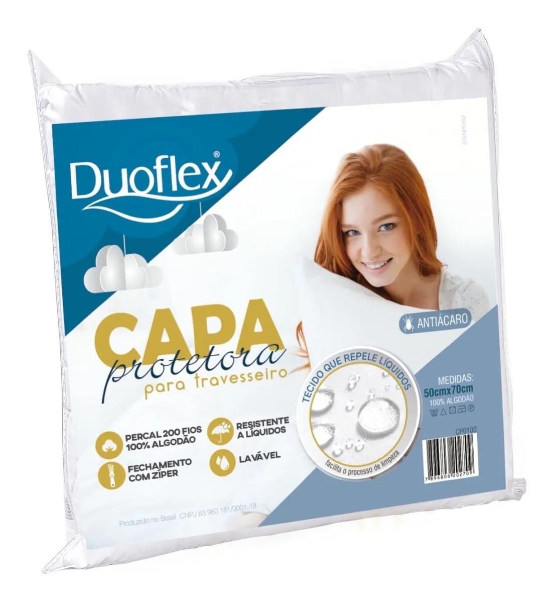 CAPA PROTETORA TRAVESSEIRO DUOFLEX