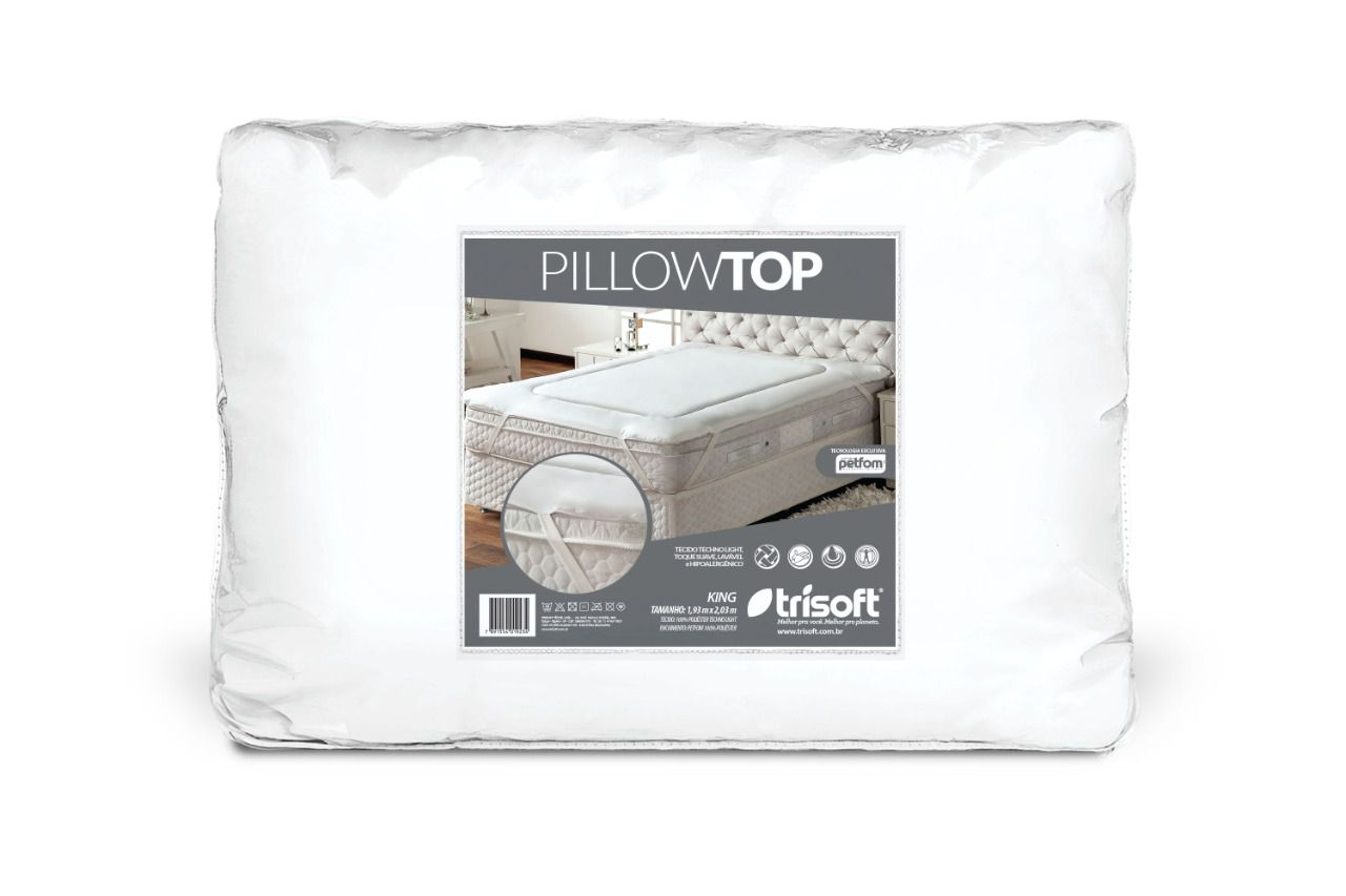 PROTETOR DE COLCHAO TRISOFT PILLOW TOP QUEEN (200x160x4cm)